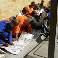 Prisoners with papers